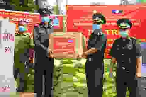 Nghĩa tình lực lượng bảo vệ biên giới Việt – Lào giữa đại dịch Covid-19