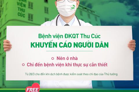 Bệnh viện ĐKQT Thu Cúc: Bác sĩ online tư vấn miễn phí, nhiều hỗ trợ cho mẹ bầu