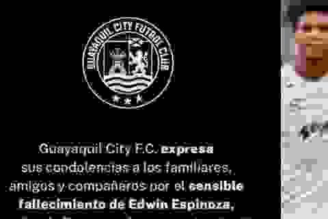 Cầu thủ bóng đá ở Ecuador bị bắn chết ngay trước nhà