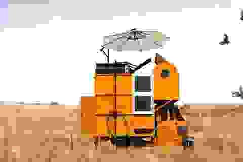 """Khám phá nhà """"xe kéo"""" siêu nhỏ tiện dụng"""