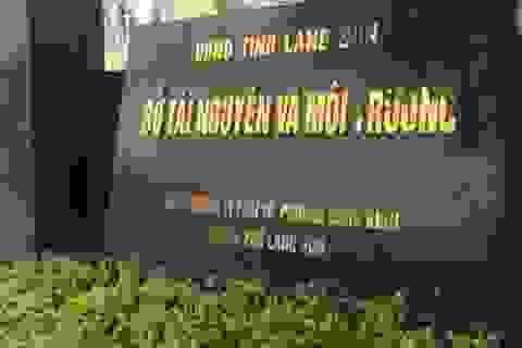 Khởi tố, bắt tạm giam Phó Giám đốc Sở TNMT tỉnh Lạng Sơn