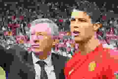 Sir Alex suýt biến C.Ronaldo thành đồng đội của... Messi