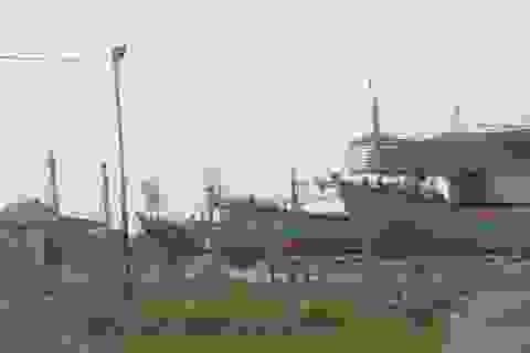 """Ngừng hoạt động 2 cơ sở đóng tàu hoạt động """"chui"""", gây ô nhiễm"""