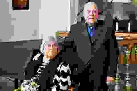 Cảm động cặp đôi tái hôn tại nơi đã kết hôn lần đầu cách đây 55 năm