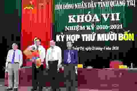 Miễn nhiệm chức danh Chủ tịch UBND tỉnh Quảng Trị