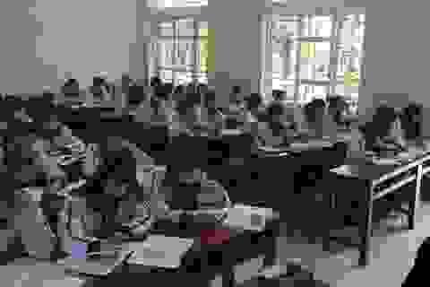 Học sinh phải ngồi cách nhau 1,5m: Không sát thực tế, khó thực hiện