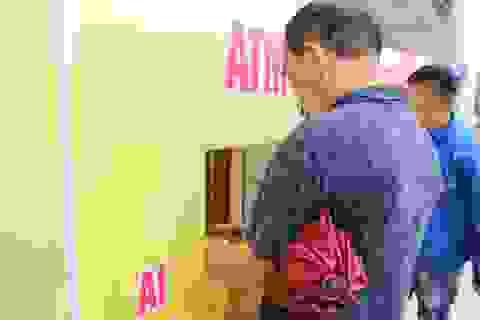 """Cây """"ATM gạo"""" đầu tiên tại Hà Tĩnh chính thức khai trương"""