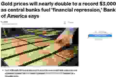 Cú sốc đáng sợ, cảnh báo vàng lên trên 80 triệu đồng/lượng