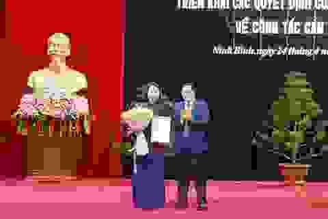 Chủ tịch Hội Liên hiệp Phụ nữ Việt Nam giữ chức Bí thư tỉnh Ninh Bình