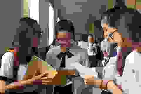 Đáp án gợi ý giải đề thi tham khảo tốt nghiệp THPT 2020