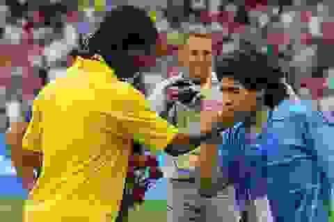 """Maradona: """"Ronaldinho không phải là tội phạm"""""""