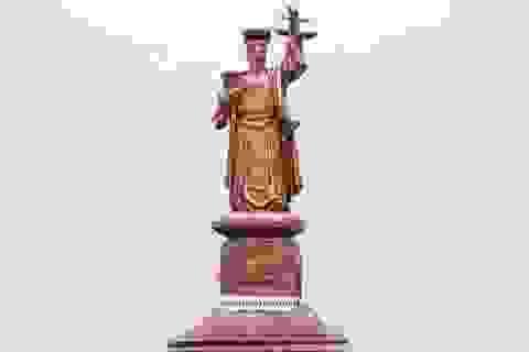 Ngành tòa án dựng tượng vua Lý Thái Tông làm biểu tượng công lý