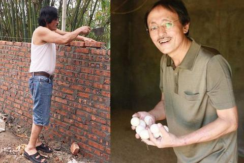 """Nghệ sĩ Giang Còi: """"Thất nghiệp, ở nhà làm thợ xây, chăm gà lợn..."""""""