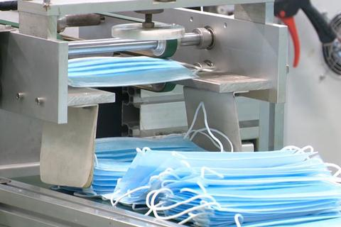 Hỏa tốc kiểm tra việc nhập khẩu dây chuyền sản xuất khẩu trang lạc hậu