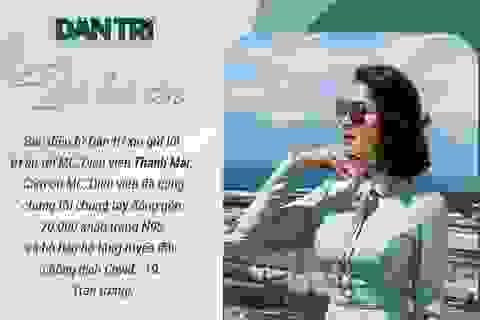 Lao đao vì dịch, MC Thanh Mai vẫn oằn mình trả đủ lương cho 100 nhân viên