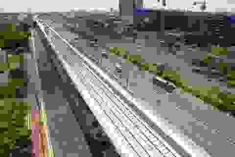 Ngắm toàn cảnh tuyến metro đầu tiên của TPHCM