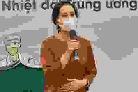 """NSND Lan Hương: """"Tim tôi như thắt lại mỗi khi đọc về tuyến đầu chống dịch"""""""