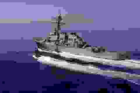 Tàu chiến Mỹ áp sát quần đảo Hoàng Sa, Trung Quốc xua đuổi