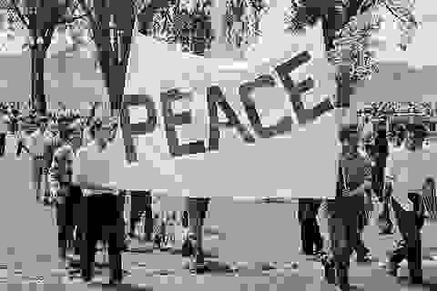 """Phong trào phản chiến từng làm """"dậy sóng"""" nước Mỹ thời Chiến tranh Việt Nam"""