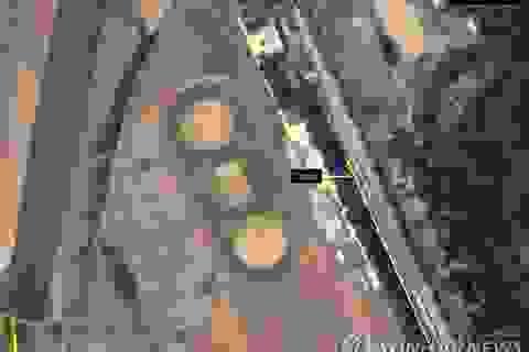 """Đoàn tàu của ông Kim Jong-un """"tái xuất"""""""