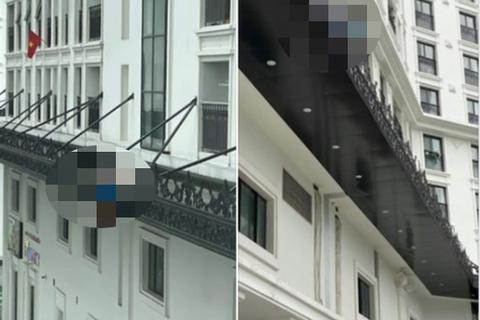 Hà Nội: Người đàn ông rơi từ tầng cao xuống ban công chung cư, tử vong