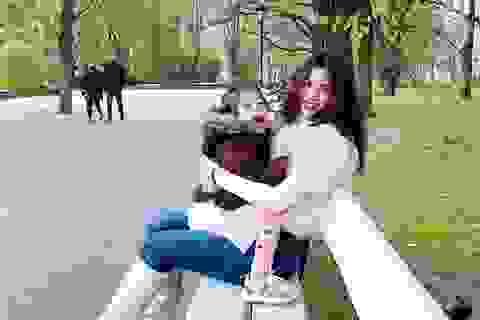 Á hậu Diễm Trang tiết lộ cuộc sống khi Ba Lan nới lỏng lệnh phong toả