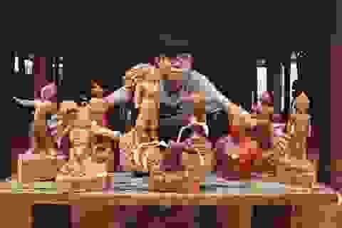 """Siêu nhân sinh ra từ gỗ: Khối """"vàng ròng"""" của 9x Quảng Nam"""