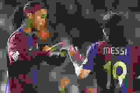 """Ronaldinho giỏi hơn cả Messi"""
