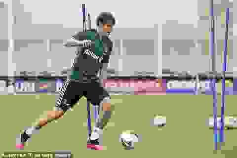 Các ngôi sao Juventus chính thức tập luyện trở lại trên sân cỏ