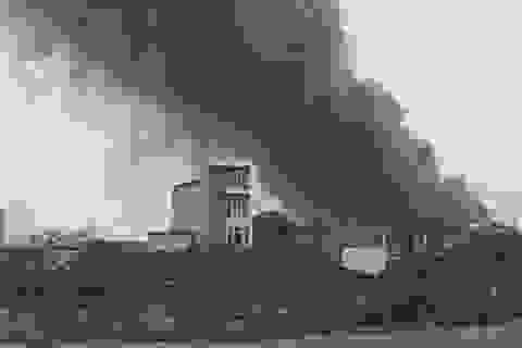 Hà Nội: Cháy lớn tại Khu công nghiệp Phú Thị