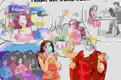 Làm gì sau giãn cách xã hội: Đừng bỏ qua loạt tranh này của Bộ y tế