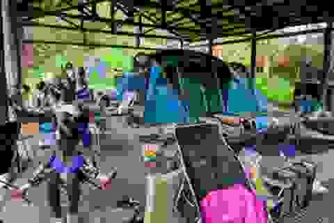 Cắm trại chiếm ưu thế tại Đài Loan thời đại dịch