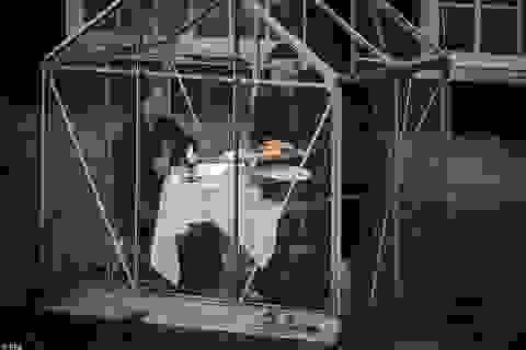 """Kể từ giờ, muốn dùng bữa ở Châu Âu sẽ phải... """"chui vào lồng kính""""?"""
