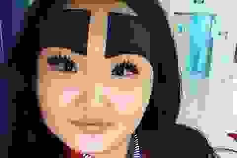 Bất ngờ với gương mặt thật của cô gái có cặp lông mày vẽ kín trán