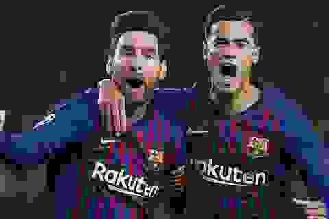 """Rivaldo: """"Messi là nguyên nhân khiến Coutinho thất bại ở Barcelona"""""""
