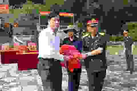 Truy điệu, an táng 20 hài cốt liệt sĩ Việt Nam hy sinh tại Lào