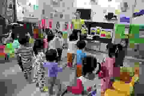 Đà Nẵng: Trẻ mầm non rửa tay bằng xà phòng, không dùng dung dịch sát khuẩn