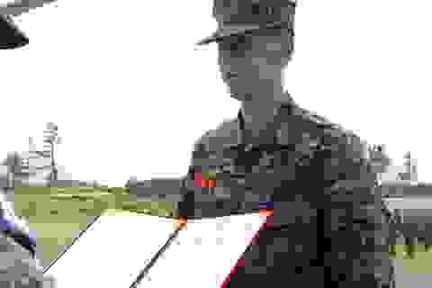 Bắn súng xuất sắc, Son Heung Min tốt nghiệp khóa quân sự loại giỏi