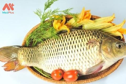 Canh cá chép tốt cho bệnh nhân ung thư gan