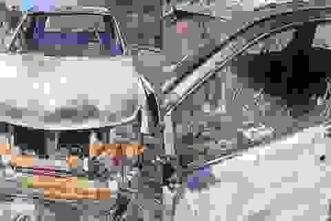 Vụ thi thể biến dạng trong ô tô cháy rụi: Khó xác định danh tính nạn nhân
