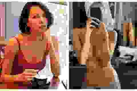 """Siêu mẫu Minh Triệu """"đốt mắt"""" với ảnh bán nude táo bạo"""