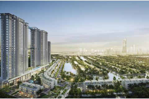 Dự án căn hộ cao cấp Ecopark có hồ cảnh quan hơn 50 ha