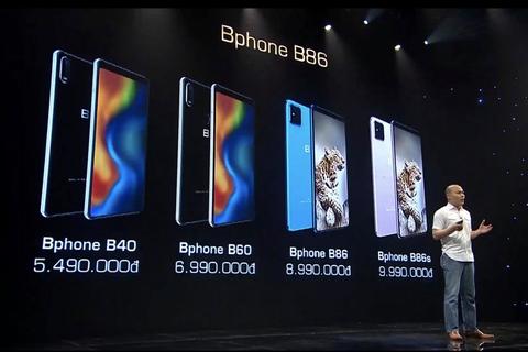 Bkav ra mắt 4 phiên bản Bphone mới, giá từ 5,5 triệu đồng