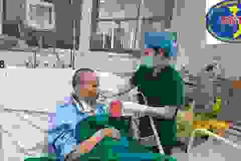 Chiều 11/5: Không ca mắc Covid-19, bác gái bệnh nhân 17 hồi phục kỳ diệu