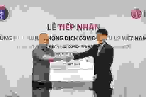 LG Việt Nam tài trợ Bộ Y tế 10.000 bộ kit xét nghiệm Covid-19 và các trang thiết bị y tế nhập khẩu từ Hàn Quốc
