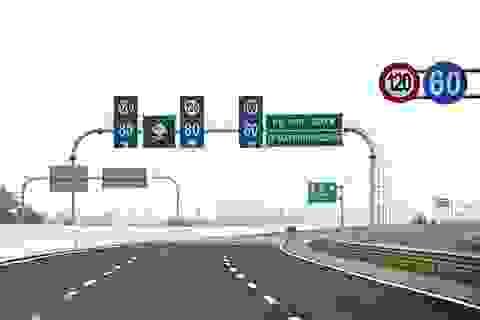 """""""Luật hóa"""" quy định về tốc độ tối đa và khoảng cách tối thiểu"""