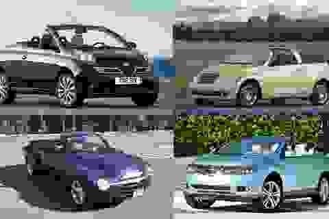10 mẫu xe mui trần… xấu nhất mọi thời đại