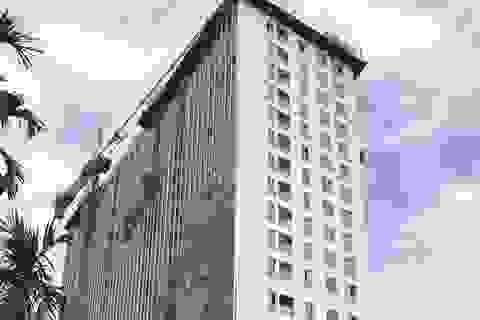 Đã có phương án phá dỡ tầng 18 tòa 8B Lê Trực?
