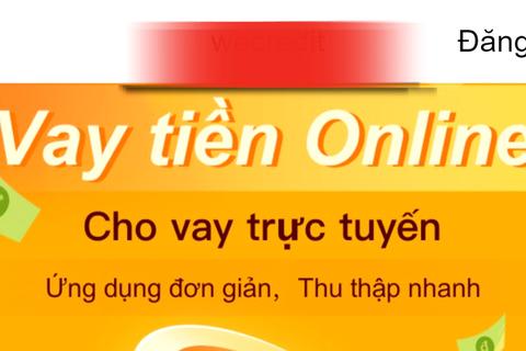"""""""Ổ"""" cho vay nóng online do người Trung Quốc cầm đầu, lãi suất…1000%/năm"""
