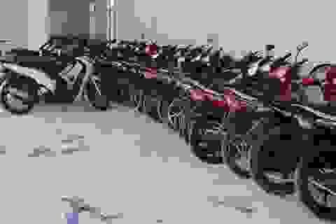 """Phát hiện 60 xe mô tô """"trôi nổi"""" thị trường, bị thay đổi số khung, số máy"""